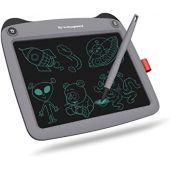 LCD Writing Tablet 9'' (9 inch), Best Gift Electronic Drawing and Writing Board for Kids & Adults, Handwriting Paper Doodle Pad for Office, School, Home [Grey-N2]