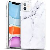 ESR Marble Case Compatible with iPhone 11, Slim Soft Flexible TPU, Marble-Pattern Cover for iPhone 11 6.1