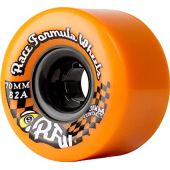 Sector 9 Race Formula Center-Set Skateboard Wheel, Orange, 70mm 82A