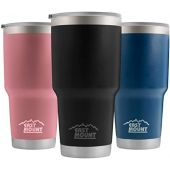 20oz Stainless Steel Tumbler Eastmount-Vacuum Insulated Pineapple Cup Double Wall Coffee & Tea Cup-20 Ounce 18/8 Stainless Steel Travel Flask Mug Beer Mug with AS Lid.