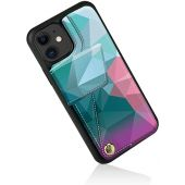ZVEdeng iPhone 11 Wallet Case, iPhone 11 Credit Card Case, iPhone 11 Case with Card Holder, Durable and Slim, Shockproof Leather Printed Case Handbag Purse for iPhone 11 (2019) 6.1inch-Mixcolor