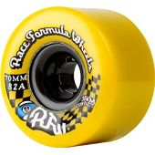 Sector 9 Race Formula Center-Set Skateboard Wheel, Yellow, 70mm 78A