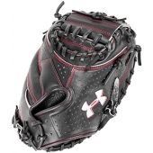 Under Armour Baseball UACM-PRO1 Professional Series Baseball Catching Mitt, Black, Adult 34