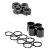 Dime Bag Hardware Skateboard Truck Speed Kit Axle Washers/Nuts/Spacers for Bearing Performance