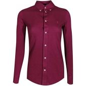 Polo Ralph Lauren Women's Knit Oxford Shirt
