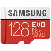 Samsung 128GB MicroSD EVO Plus 100MB/s (U3) Micro SDXC Memory Card w/Adapter (MB-MC128GA) (15 Pack)