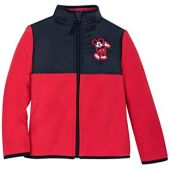 Disney Mickey Mouse Pieced Fleece Jacket for Adults - Multi