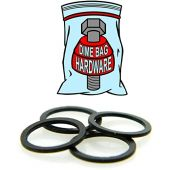 4 Skateboard Truck Axle Washers - Dimebag Speed Rings - Improved Speed and Bearing Performance
