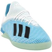 adidas Mens X 19.1 Indoor Soccer Casual Cleats, Blue, 13