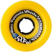Sector 9 Skateboards Race OS Formula Skateboard Wheels, Yellow, 70mm 78A