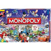 Disney Theme Park Monopoly Board Game. Own it All As You Buy Your Favorite Disney Attractions. Disney Theme Park Edition III. Features Pop Up Disney Castle