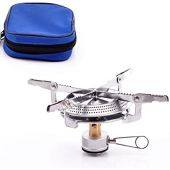 CHENBO Ultralight Outdoor Camping Stove Gas-Powered Stove Cookout Butane Burner