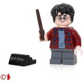 LEGO 2018 Harry Potter Minifigure - Harry Potter (in Sweater with Wand) 75953
