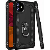iPhone 11 Case,15ft Drop Tested,ZADORN Military Grade Heavy Duty Cover with Hard PC and Soft TPU Protective Phone Case for iPhone 11 6.1 inch 2019 Black