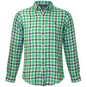 Polo Ralph Lauren Men's Lightweight Classic Fit Flannel Shirt Long Sleeve Plaid Shirt