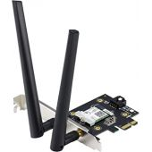 ASUS Dual Band 802.11AC Wireless-AC2100 PCI-e Bluetooth 5 Gigabit WiFi Adapter, 160MHz Support (PCE-AC58BT)