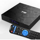 WISEWO Android TV Box 8.1, [2019 New] Android TV Player Quad Core/ 2.4G WiFi/ 64 Bits/ BT4.1/ H.265/ 3D UHD 4K Smart Internet TV Box (4GB/32GB)