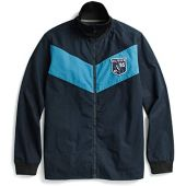 Tommy Hilfiger Men's Adaptive Shirt Jacket with Magnetic Zipper Custom Fit