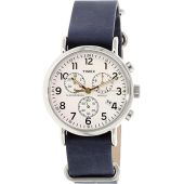 Timex TW2P62100 Men's Weekender Chrono Oversized Analog Display Quartz Watch