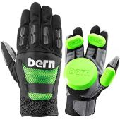 BERN Longboard Slide Gloves Fulton Green M/L (Pair, Includes Pucks)