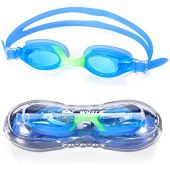 Kids Swim Goggles for Boys and Girls - Adjustable Straps, Silicone Eye Seal, UV Protection and Anti Fog Lenses Swimming Goggle