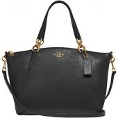 COACH Pebbled Leather Small Kelsey Satchel