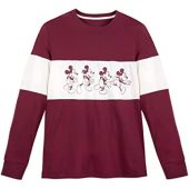 Disney Mickey Mouse Long Sleeve T-Shirt for Men Multi