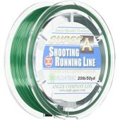AXISCO Fly Line Super A Floating Shooting Running Line 50yd 20lb F