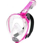 Cressi Adult Snorkeling Full Face Mask | Wide Clear View, Anti-Fog System | Duke Dry: designed in Italy: Quality Since 1946