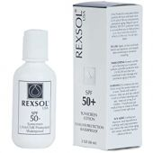 REXSOL SPF 50+ Sunscreen UVA UVB Protection Waterproof | With Vitamin C, Vitamin E & Vitamin A | Maximum reinforced protection against UVA and UVB rays | Prevent fine lines and wrinkles(60 ml/2 fl oz)