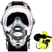 Ocean Reef Neptune Space GDivers Integrated Full Face Diving Mask with GSM G.Divers
