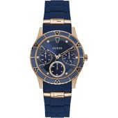 Guess Valencia Blue Dial Ladies Multifunction Watch W1157L3