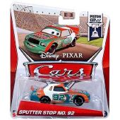 Disney / Pixar CARS MAINLINE 1:55 Die Cast Car Sputter Stop No. 92 [Piston Cup 15/18]