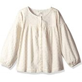 Gymboree Girls' Big Long Sleeve Woven Shirt