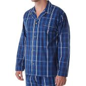Polo Ralph Lauren 100% Cotton Woven Pajama Shirt (P513HR) M/Jones Plaid/Nevis