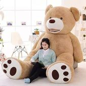 Soft Toy Extra Large Teddy Bear, Cute Bear, Animal, Large Soft Toy, Cuddly Toy, Fluffy, browns