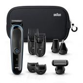 Braun Hair Clippers for Men MGK3980, 9-in-1 Beard Trimmer, Ear and Nose Trimmer, Body Groomer, Detail Trimmer, Cordless & Rechargeable, with Gillette ProGlide Razor