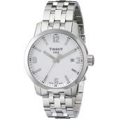 Tissot Men's T0554101101700 PRC 200 Analog Display Swiss Quartz Silver Watch