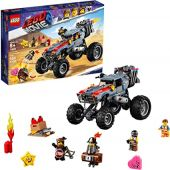 LEGO The Movie 2 Escape Buggy 70829 Building Kit, Build and Play Toy Car with Action Heroes (549 Pieces) (Discontinued by Manufacturer)