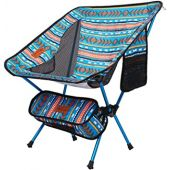 Moon Lence Outdoor Chair, Camping Chair, Compact, Foldable, Ultra Lightweight, Storage Bag, Hiking, Load Capacity 330.7 lbs (150 kg)