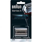 Braun Series 5 52S Electric Shaver Head Replacement Cassette  Silver