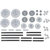 LEGO 46pc Technic gear & axle SET #3 (Works with Mindstorms NXT, EV3, Bionicles and more LEGO creations!)