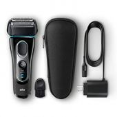 Braun Electric Razor for Men, Series 5 5145s Electric Shaver with Precision Trimmer, Rechargeable, Wet & Dry Foil Shaver & Travel Case