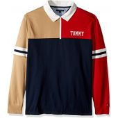 Tommy Hilfiger Men's Long Sleeve Rugby Shirt