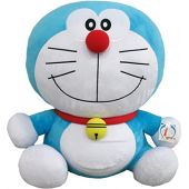 Doraemon Plush Toy, Size 3L, Height Approx. 28.7 inches (73 cm)