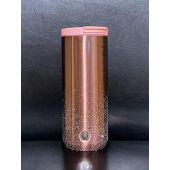 Starbucks 2020 Pink Rose Gold Double Walled Stainless Steel Tumbler, 12 Fl Oz