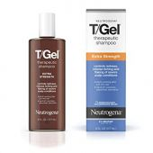 Neutrogena T/Gel Extra Strength Therapeutic Shampoo with 1% Coal Tar, Anti-Dandruff Treatment for Long-Lasting Relief of Itchy, Flaky Scalp due to Psoriasis & Seborrheic Dermatitis, 6 Fl Ounce