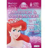 Easter Basket Stuffer Gift Disney Princess Addition and Subtraction Kindergarten Math Workbook