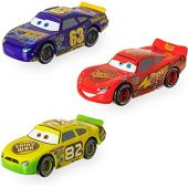 Disney Cars ''Old-Gen'' Racers Pullback Die Cast Set - 3-Pack