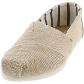TOMS Women's Alpargata Oxford Boot, Natural Undyed Heritage Canvas, 9